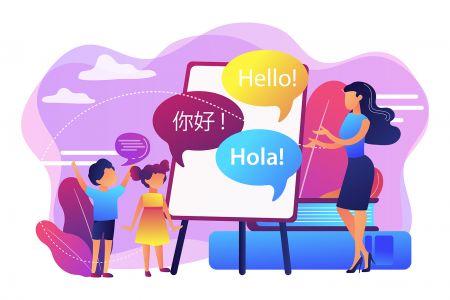 Hỗ trợ đa ngôn ngữ Raceoption